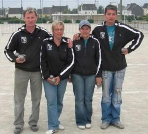 Les finalistes du Triplet du Scorff dans le carré d'honneur