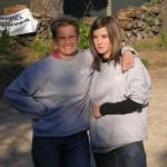 Les championnes 2009 Magali Davilma et Jennifer Le Lan