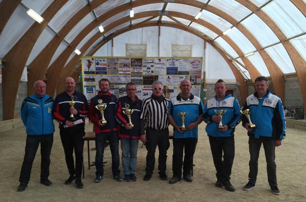 champions et finalistes du trip promotion à Lanester en 2017