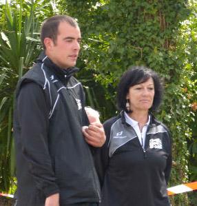 François Chouet et Annick Dagaud en demi-finale du mixte