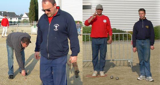 Deux parties de ce championnat du Morbihan tête à tête