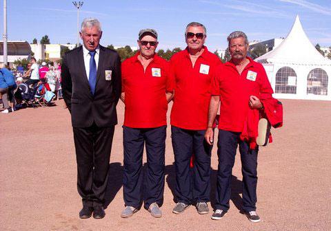 Morbihannais au championnat de France ffpjp de petanque veteran 2013