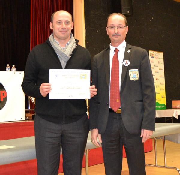 ASPTT Vannes vainqueur en CDC3
