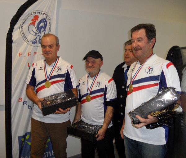 Barraud Marco et Goltais champions FFPJP veteran