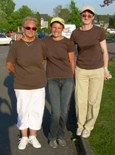 La triplette feminine de ASPTT Lorient petanque