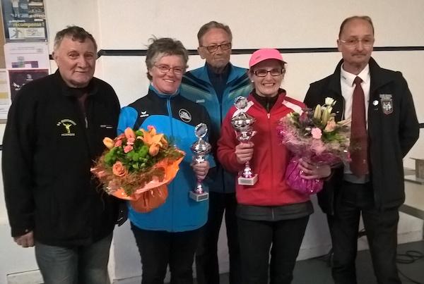Magali Davilma championne du Morbihan de pétanque tête à tête 2018