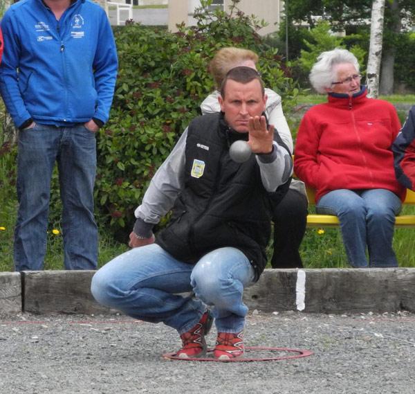 Mickael Orvoen au ligue individuel Bretagne