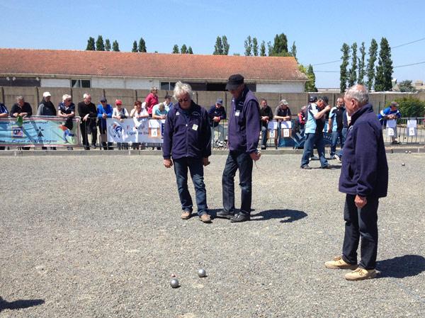 Triplette veteran de peillac contre Landerneau