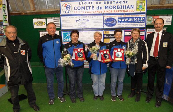championnes de petanque de Plouay