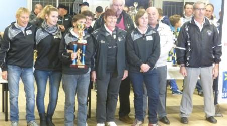 Ploerinoises championnes CRC F de petanque