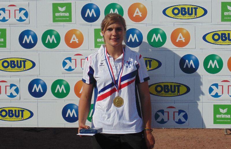 Championne de France ffpjp laurence morotti