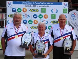 les veteran auvergne champions ffpjp