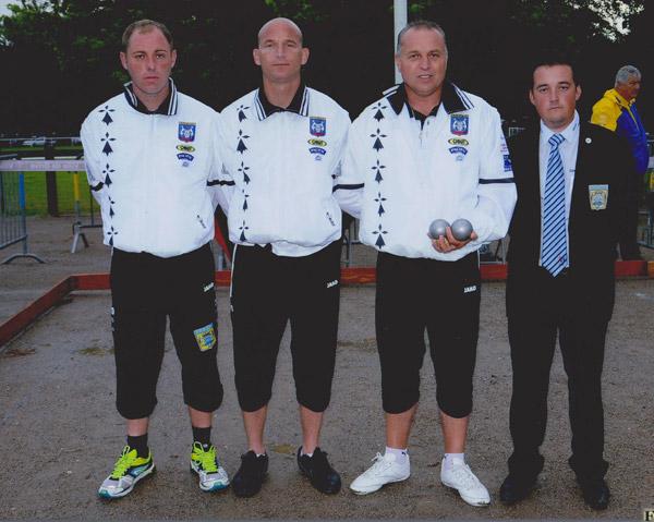 Triplette de lanester au France FFJPJP Brive