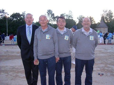 champions du morbihan au france veteran mendes