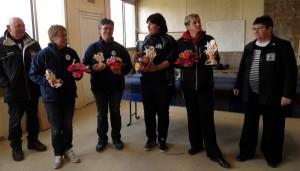 Finalistes du championnat de petanque DSF 2015