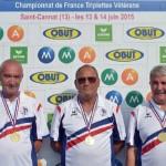 Champions ffpjp veteran a saint cannat