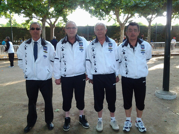 champions de ligue bretagne veteran St Cannat ffpjp