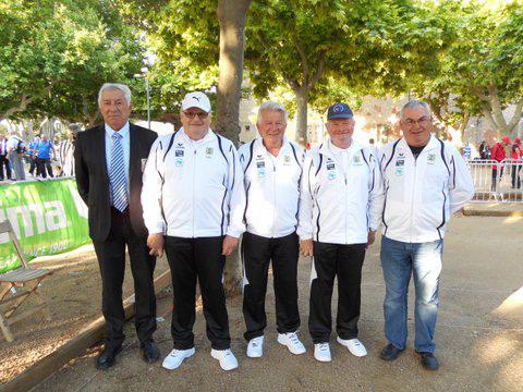 Triplette veteran de Pontivy a Saint Cannat