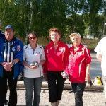 Finale du doublette vétéran féminin 2015 à kerfleau