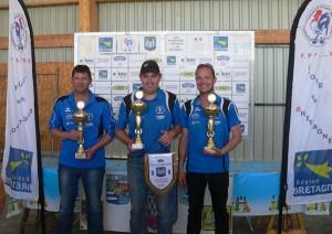 champions de Bretagne de petanque de Bannalec