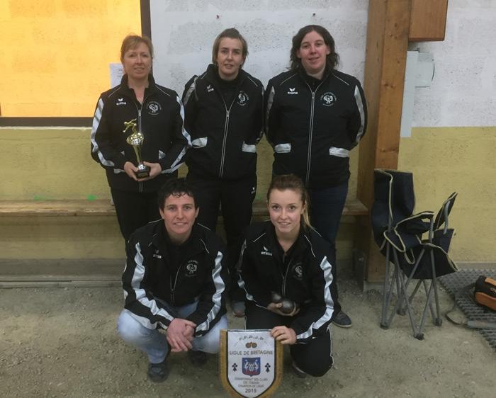 championnes CRCF de Quimperle