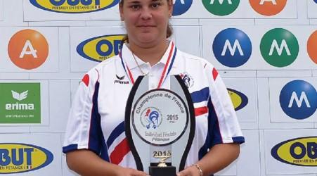 Championne de France de petanque 2015