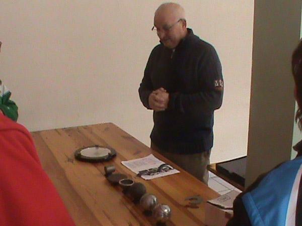André Morel à l'atelier arbitrage