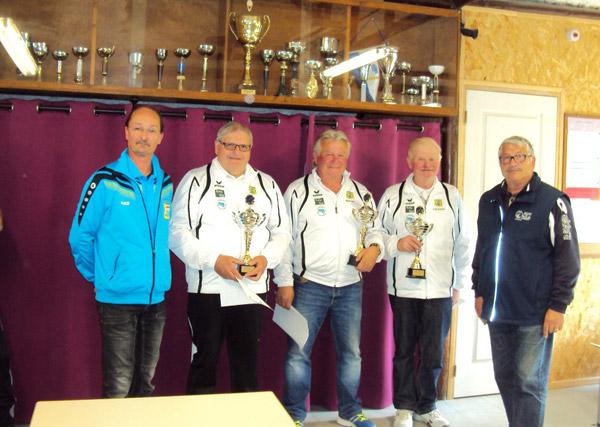 Les champions du Morbihan vétéran 2016
