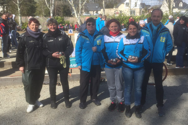 Finale du championnat du Morbihan doublette feminin 2016