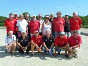 Finale du championnat des clubs veteran 2016