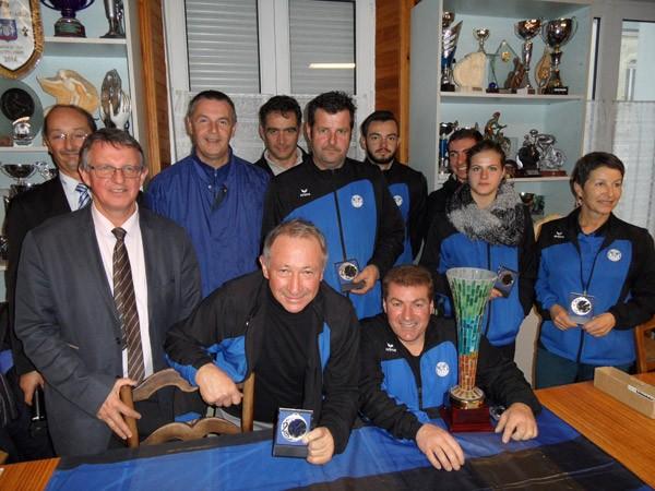 Amicale Plouaysienne Petanque finalistes de la coupe du Morbihan 2016