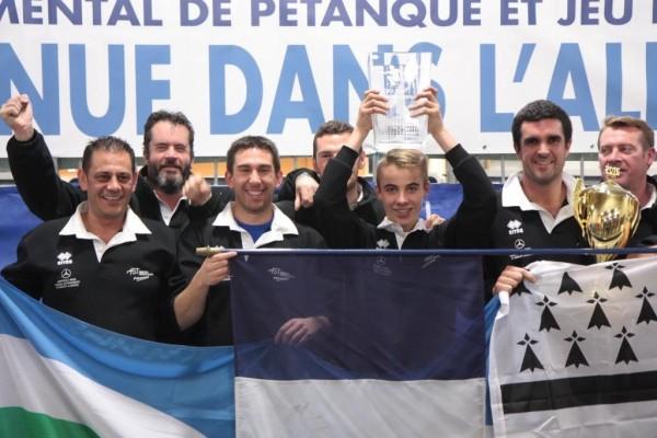 Champions de France de Pétanque des clubs CNC3 AS Trégueux