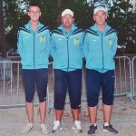 champions du Morbihan de petanque à Montauban