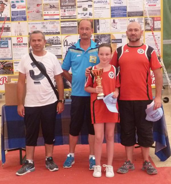 Les gagnants venus de St Jean Villenard Sport pétanque