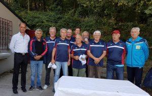 champions du morbihan des clubs 2017 en vétéran 60 ans