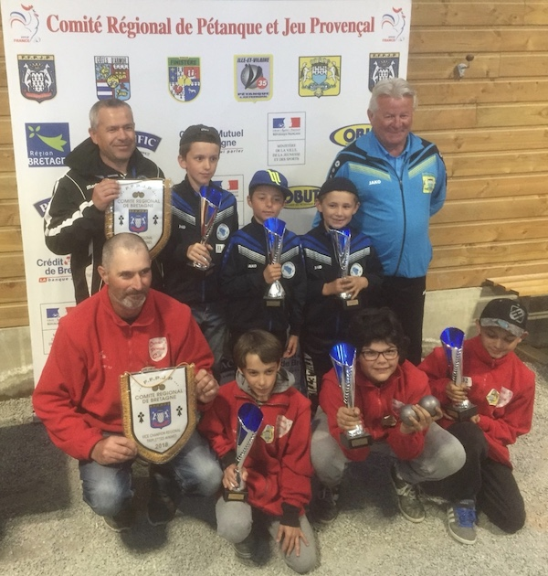 La relève de la pétanque dans le Morbihan au championnat de bretagne minime 2018