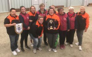 Bourg des Compte : championnes de Bretagne des clubs de pétanque