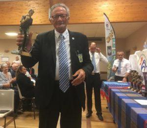 Bernard Le Pallac meilleur vétéran pétanque 2018