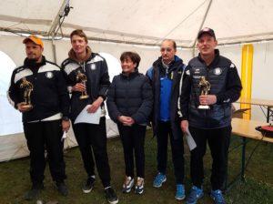 les champions de la pétanque gourinoise en triplette 2019
