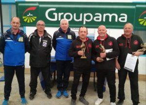 les champions du Morbihan vétéran Gattuso Hernandez Guttieres