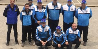 équipe de Lanester en CNC1 Pétanque 2019