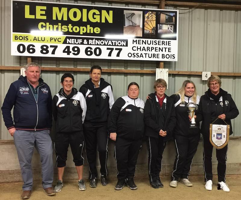 Championnes de Bretagne des Clubs 2019 : Kerhorre Pétanque