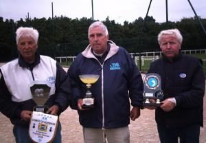 Les champions vétérans de Quiberon Pétanque