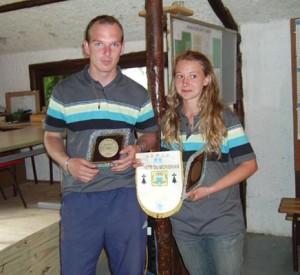 Les champions doublette mixte 2008