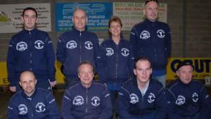 L'équipe de Coupe de France de Pétanque du club de Carnac