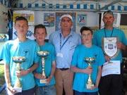 Champions de Bretagne de pétanque cadet à Lamballe