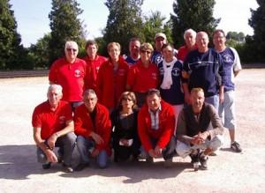 Coupe du Morbihan de pétanque entre Lochrist et Carnac