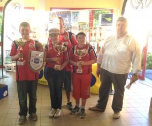 Champions de Bretagne de pétanque minime 2012