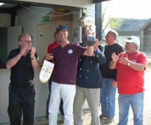 Michel Stephant champion du Morbihan de pétanque