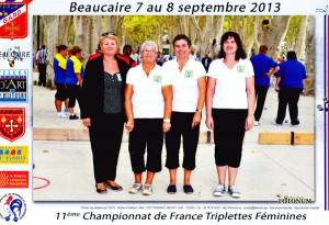 le CD56 au TF Beaucaire 2013 ffpjp